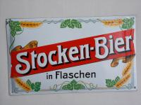 Stocken Bier in FLaschen