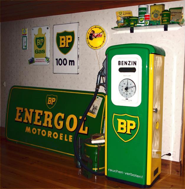 BP Zapfsäule