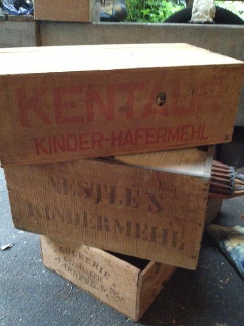 Sporting Tee Teedose Antik Apotheke Box Holz Pappe Um 1900 Herba Antik Vintage Auf Der Ganzen Welt Verteilt Werden Arzt & Apotheker Alte Berufe