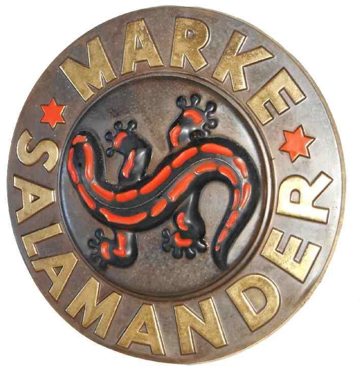 the latest ef219 9d72e Salamander | Schilderjagd, alte Emailleschilder und ...